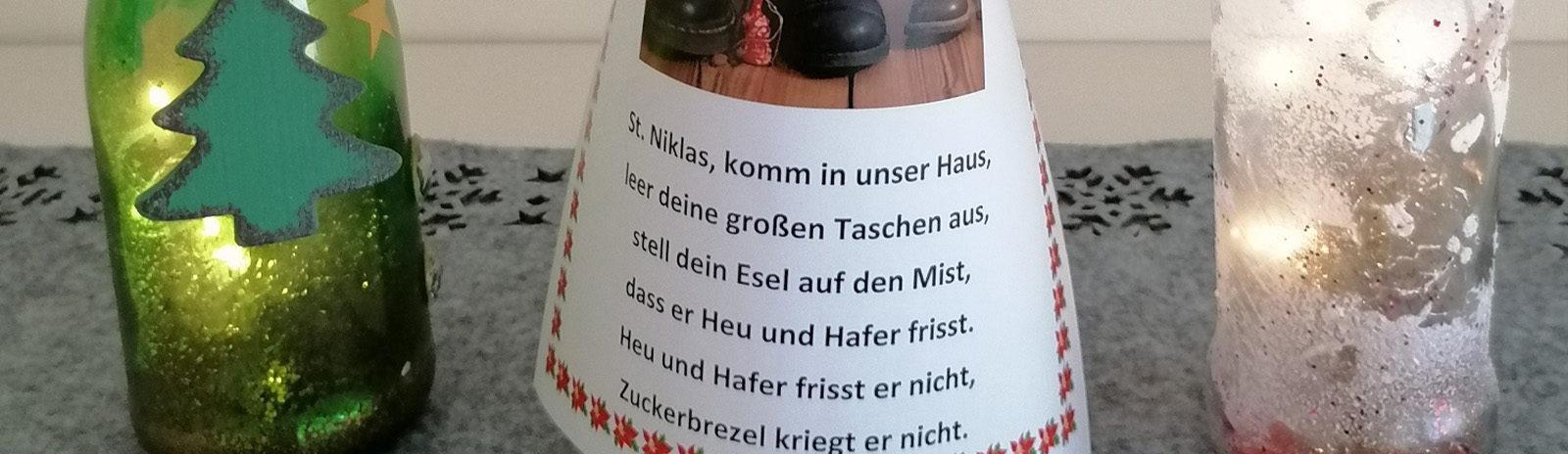 Flaschen und Nikolaustüte_slider